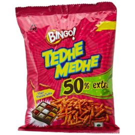 Bingo! Tedhe Medhe Masala Tadka Namkeen, 50g