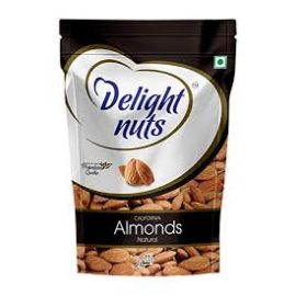 DELIGHT NUTS NATURAL ALMONDS 80 GMS