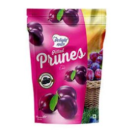 DELIGHT NUTS PITTED PRUNES 200 GMS