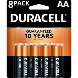 Duracell AA, LR6 Alkaline Battery (Pack of 8pcs)