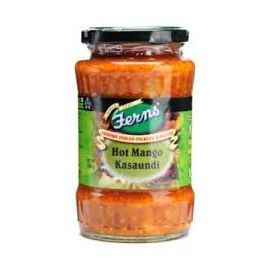 FERNS MANGO KASAUNDI HOT PICKLE 190 GMS