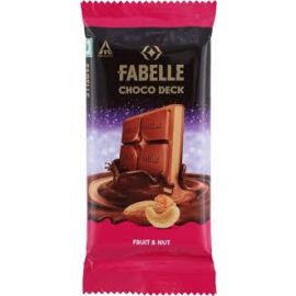 ITC FABELLE FRT&NUT CHOCO DECK BAR 30X58 GMS