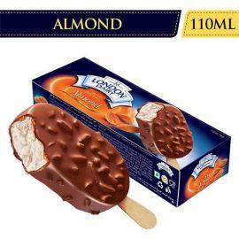 London Dairy Ice Cream - Chocolate Almond Stick, 110ml