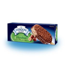 London Dairy Ice Cream Stick Hazelnut 110ml