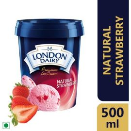 London dairy Natural Strawberry 500ML
