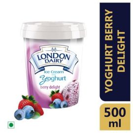 London Dairy Yoghurt Berry Delight Ice Cream 500 ml