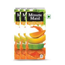 Minute Maid Mixed Fruit Tetra Brik Pack