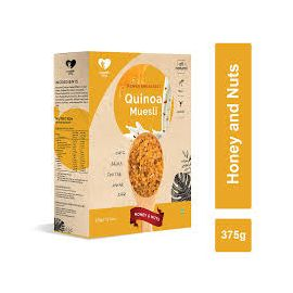 NOURISH YOU QUINOA MUESLI HONEY & NUTS 375 GMS