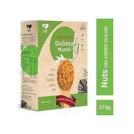 NOURISH YOU QUINOA MUESLI NUTS - NO ADDED SUGAR 375 GMS