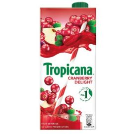 Tropicana Cranberry Delight Fruit Juice, 1L