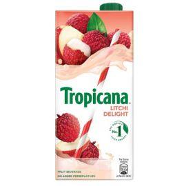 Tropicana Litchi Delight Fruit Juice 1L