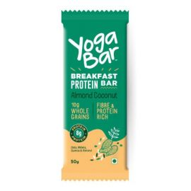 Yoga bar Breakfast Protein Almond Coconut Bar, 50 g