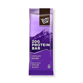 Yoga Bar Protein Chocolate Brownie Bar, 60g Pack