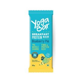 Yogabar Breakfast Protein Blueberry Bar, 50g