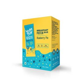 Yogabar Breakfast Protein Blueberry Bars - 300g (Box of 6 bars)